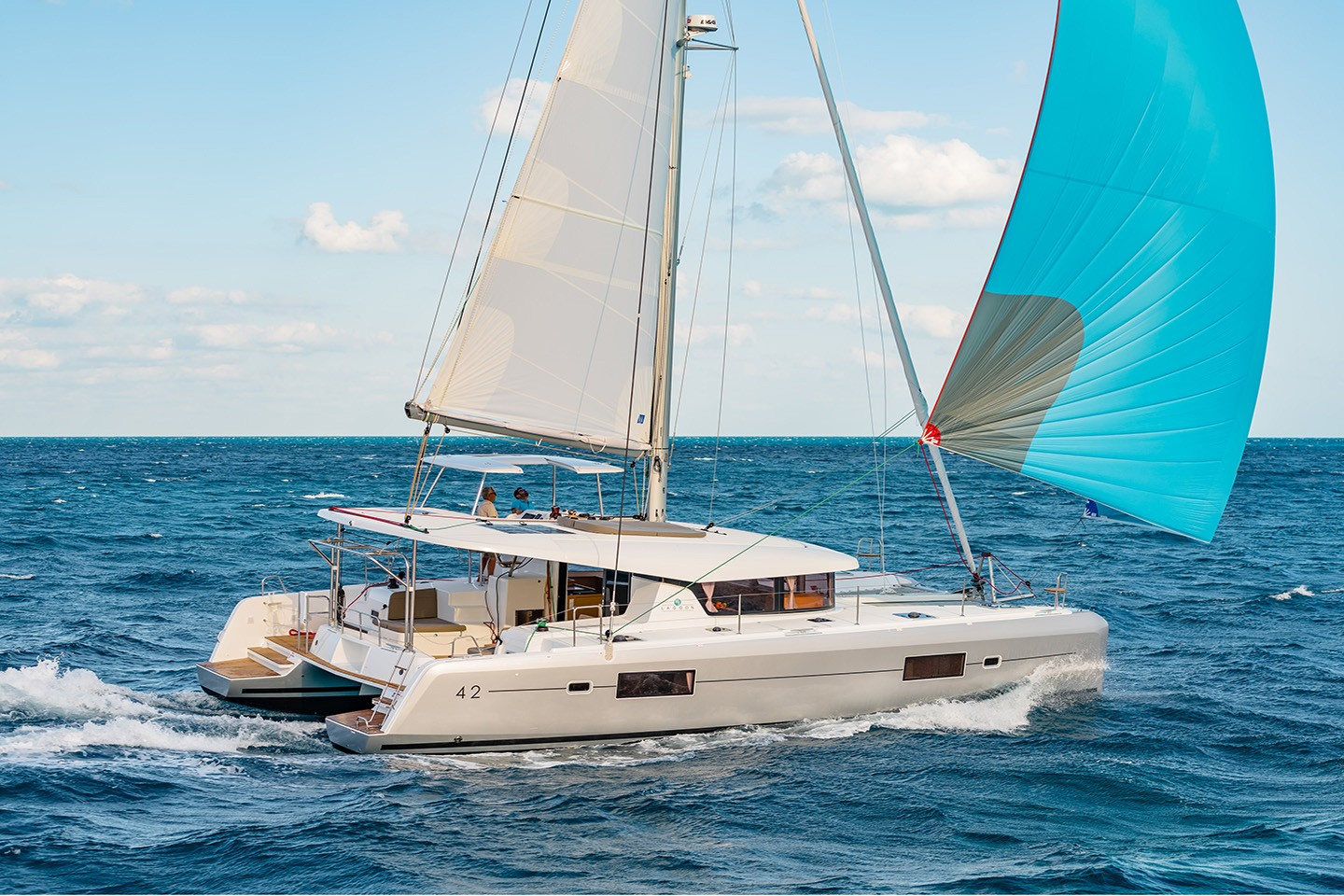 Albertina II Dufour catamaran  48     for April & May 2020 40% OFF ^ valid till 31.03.2020